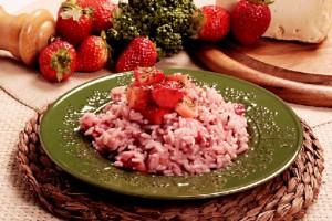 risotto-fragole